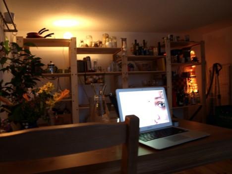 Die Küche mit Jokkmokk und Fikus