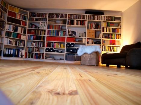 Unser Wohnzimmer. Bücher sind Freunde!